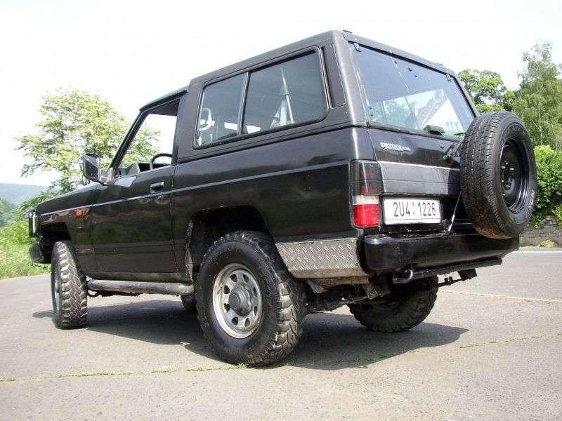 Nissan Patrol 160/260 [2nd restyling] SUV 3 dv. 2.8 MT (1986–1994)