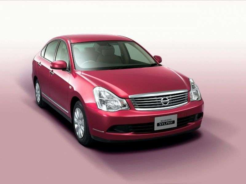Nissan Bluebird Sylphy G11 sedan 1.5 AT (2005–2012)