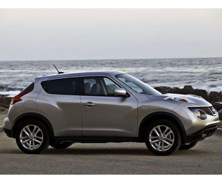 Nissan Juke YF15 crossover 5 dv. 1.6 MT Ministry of Sound (E PBB) (2012) (2011 – current century)