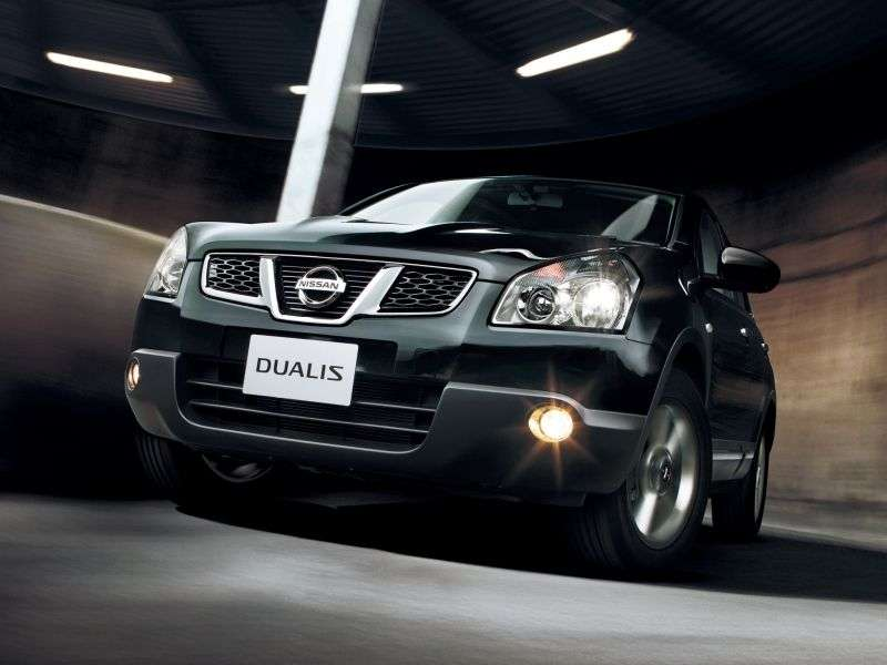 Nissan Dualis J10 [restyling] 1.6 TDI 2WD MT crossover (2011 – n.)
