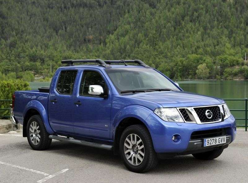 Nissan Navara D40 [restyled] Double Cab pickup 2.5 dCi Turbo AT 4WD SE Platinum (2012) (2010 – n.)