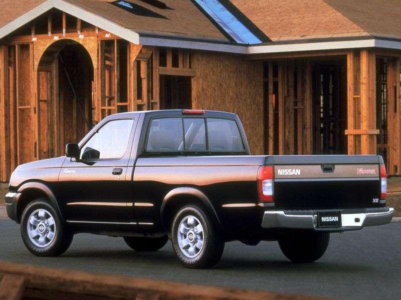 Nissan Frontier 1st generation Regular Cab pickup 2 bit. 2.4 AT RWD (1998 – n.)