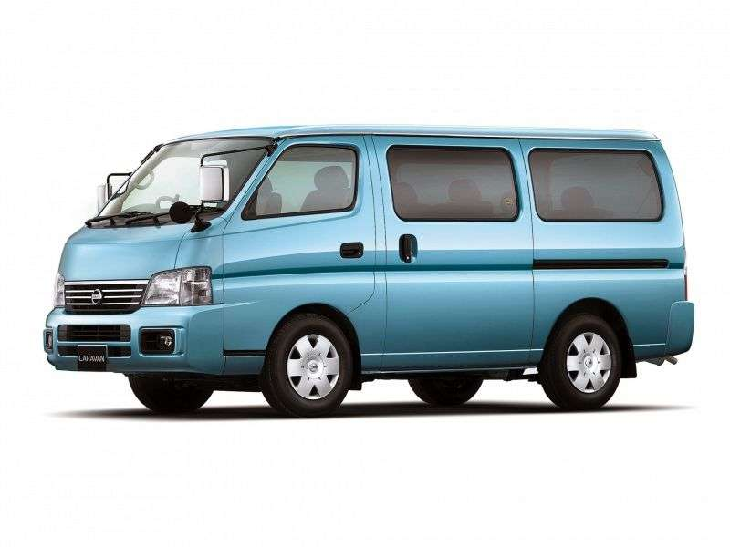 Nissan Caravan E25 Mini Bus 3.0 MT D Long (2001–2005)