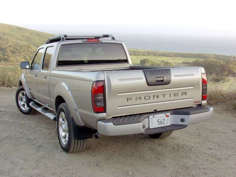 Nissan Frontier 1st generation Crew Cab pick up 4 bit. 3.3 AT AWD LWB (2002–2005)