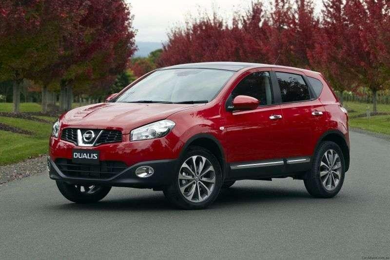 Nissan Dualis + 2 J10 + 2 Crossover 2.0 TDI 4WD AT (2008–2010)
