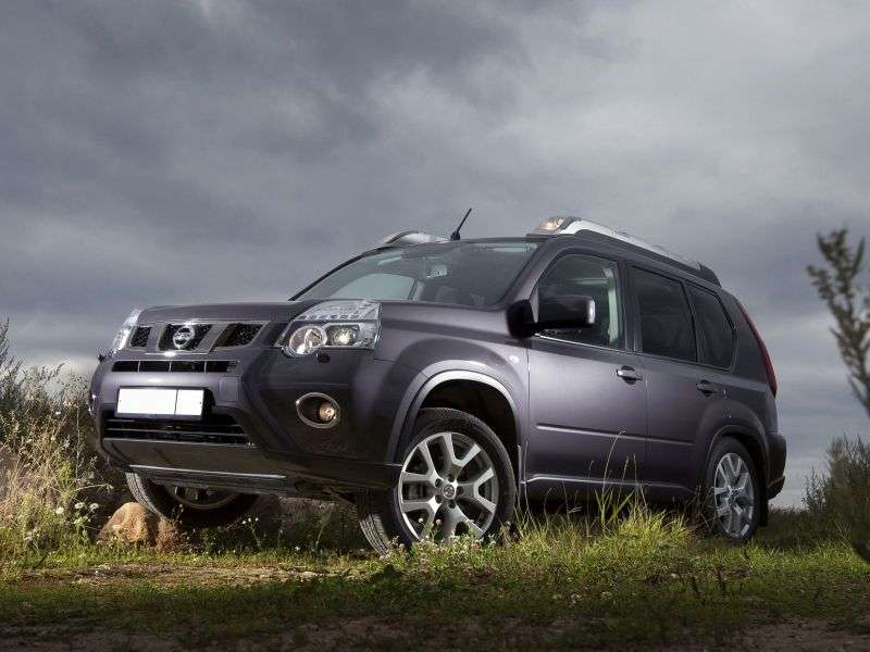 Nissan X Trail T31 [restyling] 2.5 MT AWD LE crossover (2011–2012)