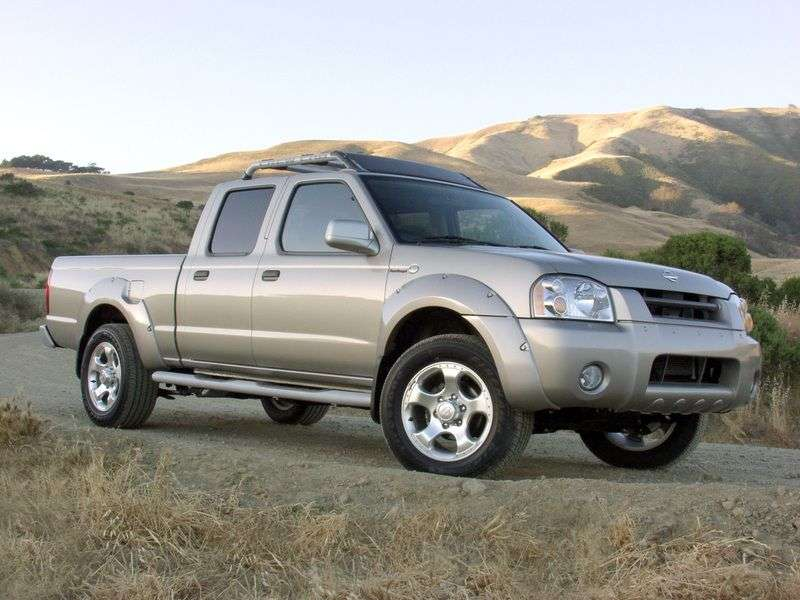 Nissan Frontier 1st generation Crew Cab pick up 4 bit. 3.3 AT (2003–2005)