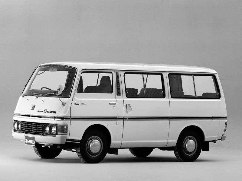 Nissan Caravan E20 Minibus 2.0 MT (1973–1980)