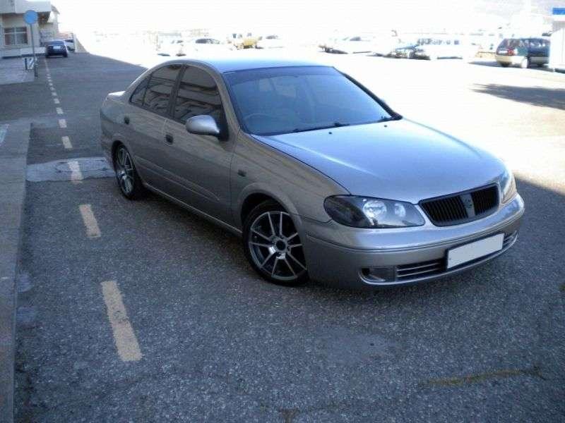 Nissan Bluebird Sylphy G10 [restyling] 1.8 AT 4WD sedan (2003–2005)