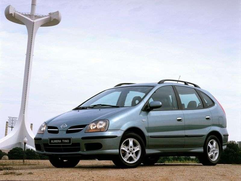 Nissan Almera Tino V10 Minivan 2.2 TD MT (2000–2003)