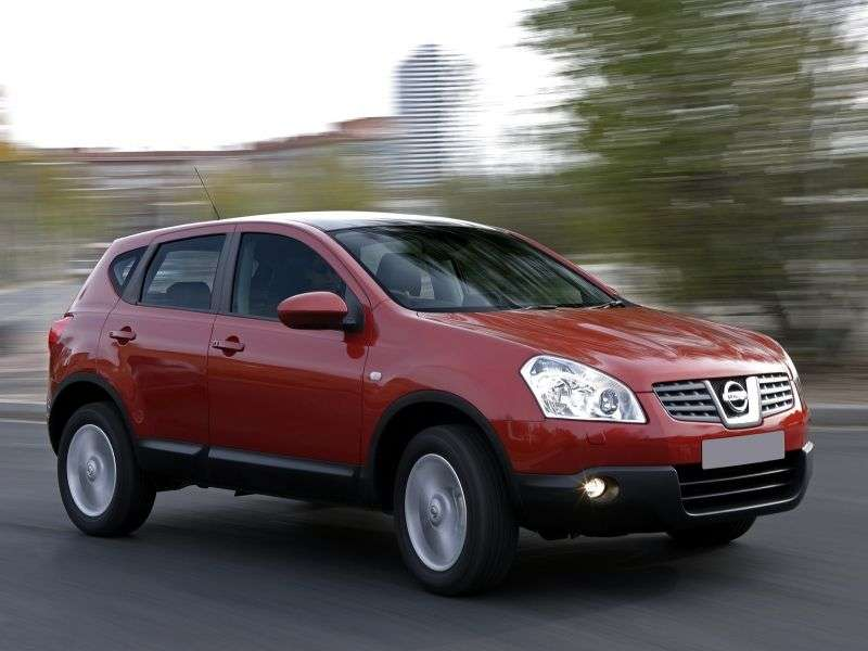 Nissan Dualis J10 [restyling] crossover 2.0 2WD CVT (2012 – n.)