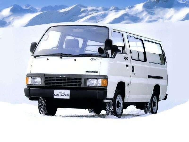 Nissan Caravan E24 Minibus 2.7 D MT 4WD (1997–1999)