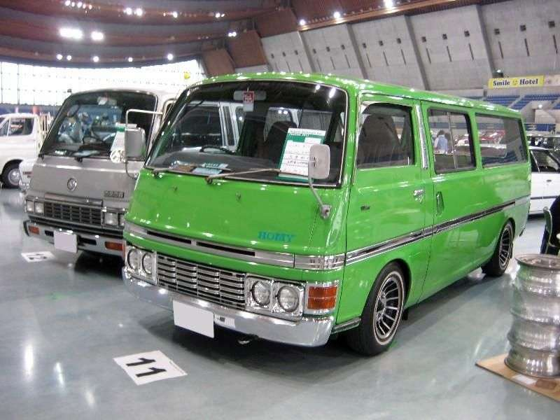 Nissan Caravan E20Long minivan 4 dv. 1.8 MT (1973–1980)