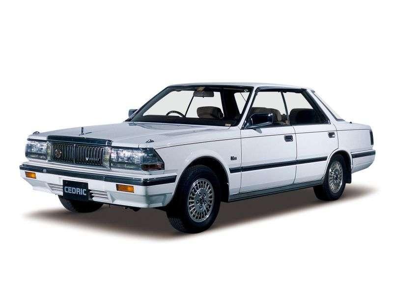 Nissan Cedric Y30 [restyling] hardtop 2.0 MT (1985–1987)