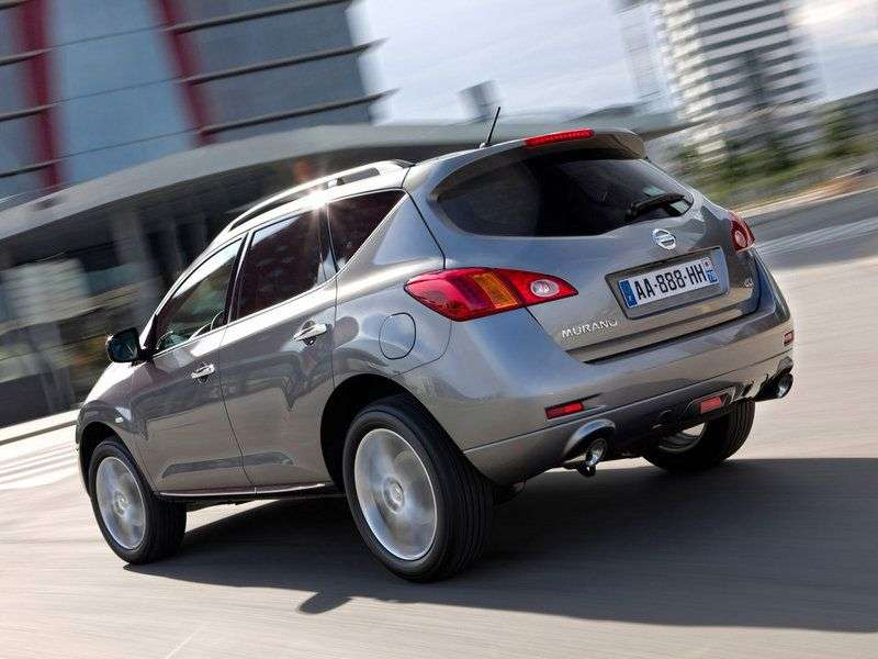 Nissan Murano Z51 [restyling] crossover 3.5 CVT AWD LE + (2013) (2010 – current century)