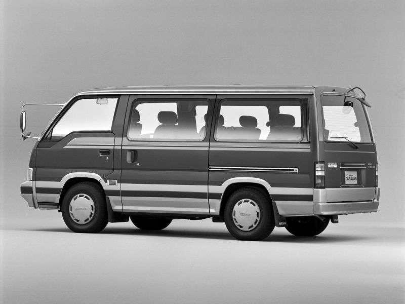 Nissan Caravan E24 Minibus 2.7 D AT Silk Road Planetaroof (1986–1993)