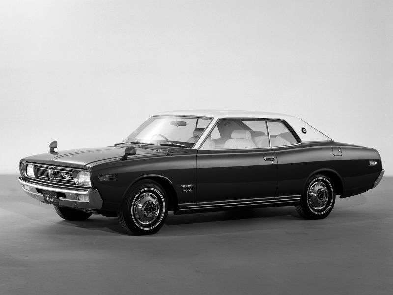 Nissan Cedric 230 hardtop 2 drzwiowy 2,4 mln ton (1971 1975)