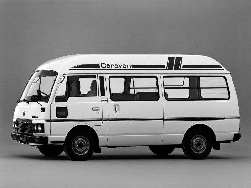 Nissan Caravan E23 microubus 4 dv. 2.2 D AT High Roof Long (1983–1987)