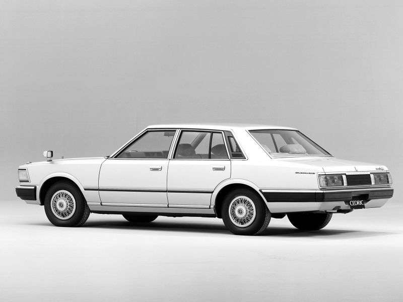 Nissan Cedric 430sedan 2.8 MT (1979–1981)