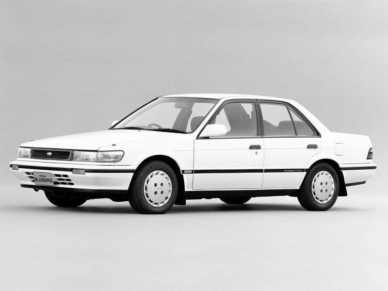 Nissan Bluebird U12sedan 2.0 SSS MT 4WD (1987–1991)