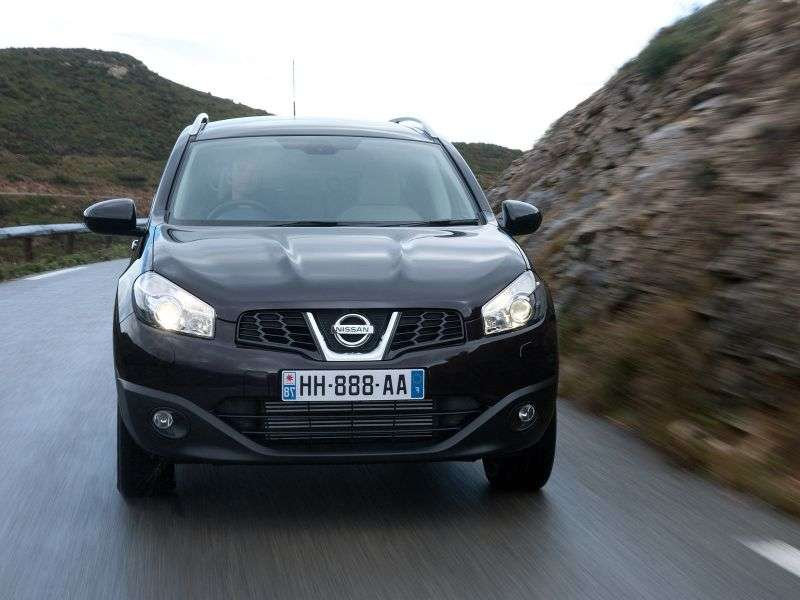 Nissan Dualis + 2 J10 + 2 [restyling] crossover 2.0 dCi AT 4WD (2011 – n.)