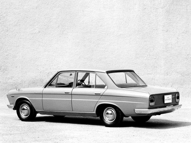 Nissan Cedric 130sedan 2.0 4MT (1965–1966)