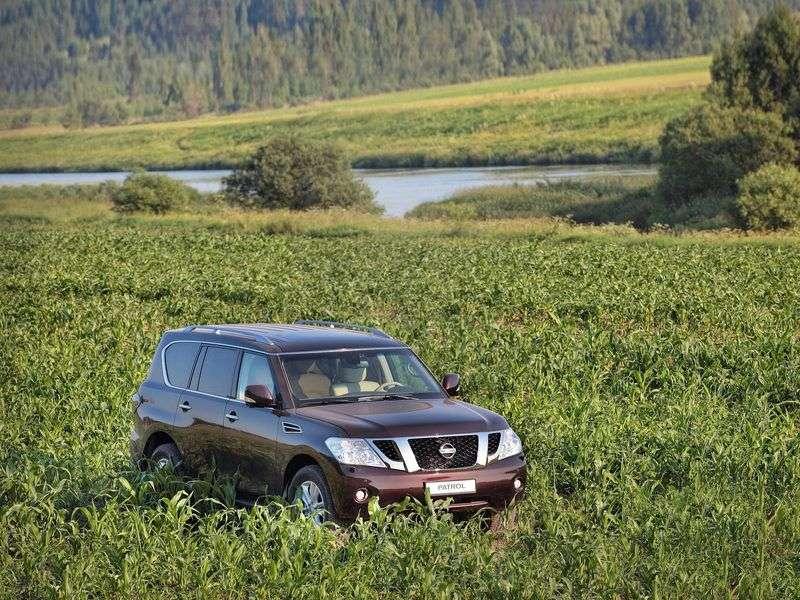 Nissan Patrol Y62 SUV 5.6 AT 4WD Base (B     D) (2013) (2010 – current century)