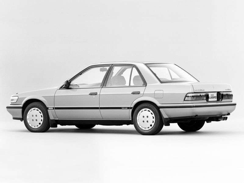 Nissan Bluebird U12 sedan 1.8 MT (1989–1991)