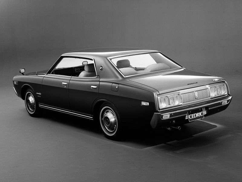 Nissan Cedric 230hardtop 4 bit. 2.4 MT (1971–1975)