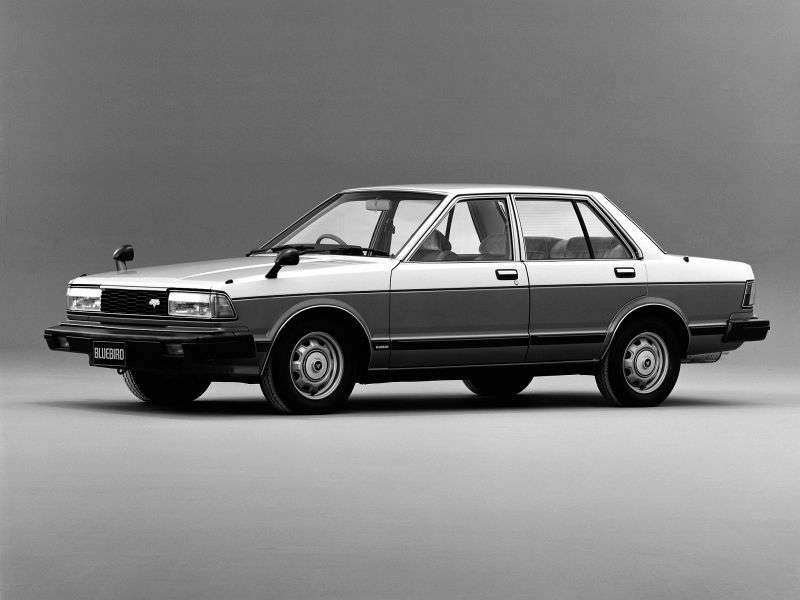 Nissan Bluebird 910 sedan 1.8 T MT (1980–1993)
