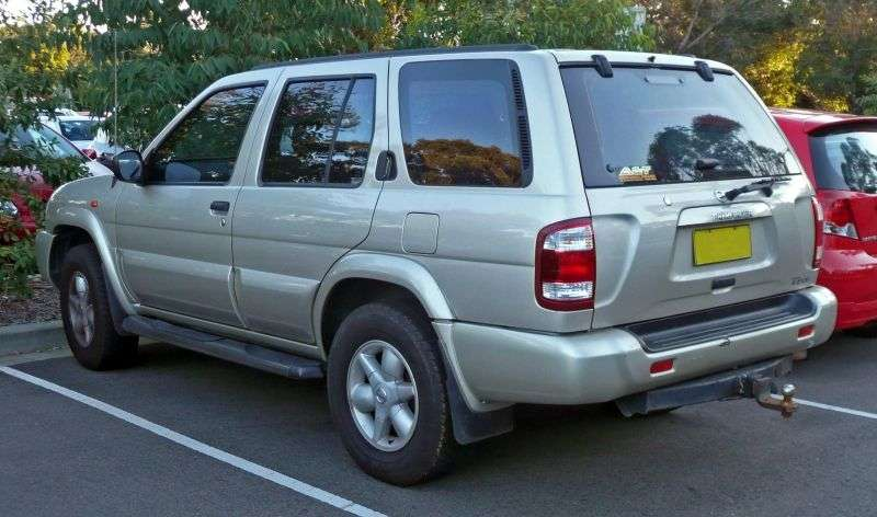 Nissan Pathfinder R50 [restyling] SUV 3.2 TD 4WD AT (1999–2004)