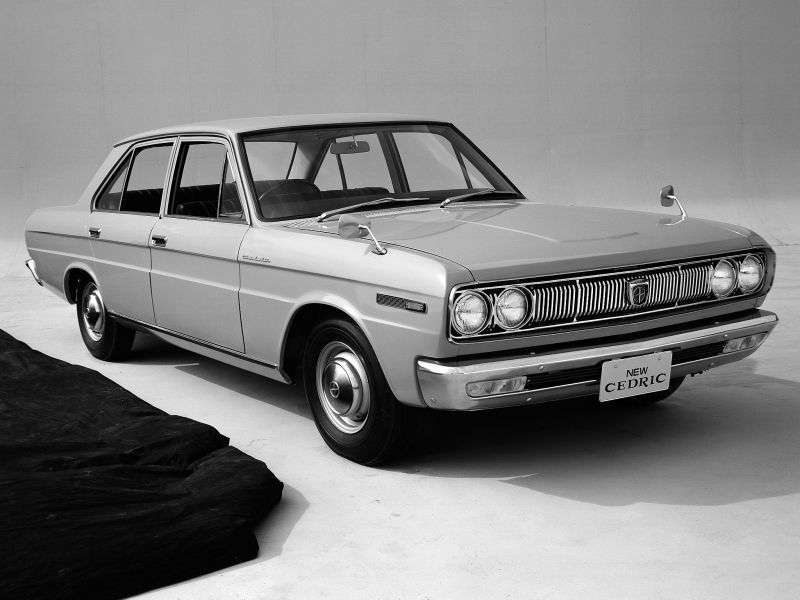 Nissan Cedric 31 [restyling] Special Mark III 4 doors sedan 2.2 D 3MT (1968–1971)