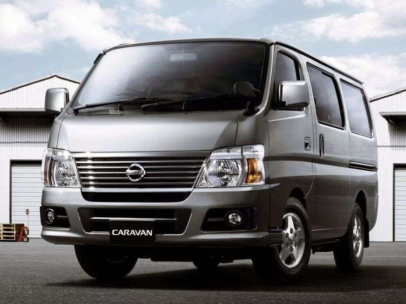 Nissan Caravan E25 [restyling] Minibus 3.0 MT TDI Super Long H2 (2005–2012)