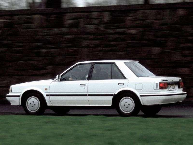 Nissan Bluebird T12 / T72 [2nd restyling] 2.0 MT sedan (1985–1987)