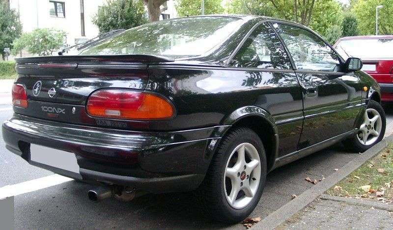 Nissan 100NX B13 Coupe 1.6 AT (1990–1994)
