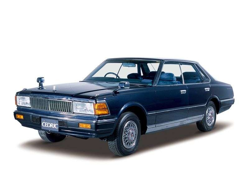 Nissan Cedric 430 [restyling] hardtop 2.0 AT (1982–1983)