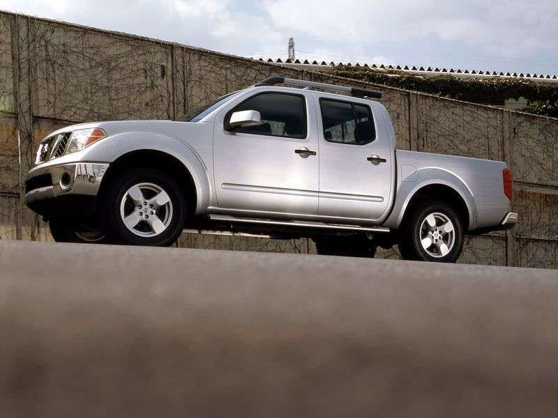 Nissan Frontier 2nd generation Crew Cab pick up 4 bit. 4.0 AT AWD (2007 – present)