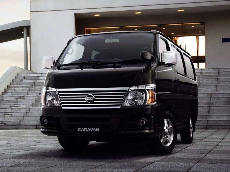 Nissan Caravan E25 [restyling] Minivan 2.5 AT Super Long H2 (2005–2012)