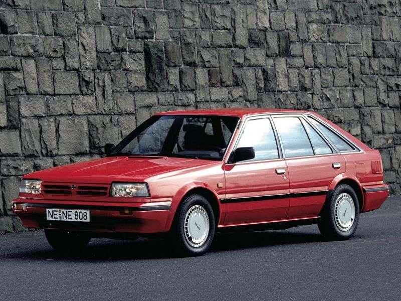 Nissan Bluebird T12 / T72 [2nd restyling] hatchback 2.0 D MT (1986–1990)