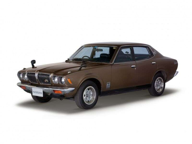 Nissan Bluebird 610 [restyling] 2000 GT sedan 1.6 SSS E 4MT (1973–1974)