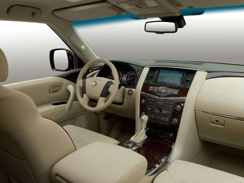 Nissan Patrol Y62 SUV 5.6 AT 4WD Titanium (A   AE) (2013) (2010 – current century)