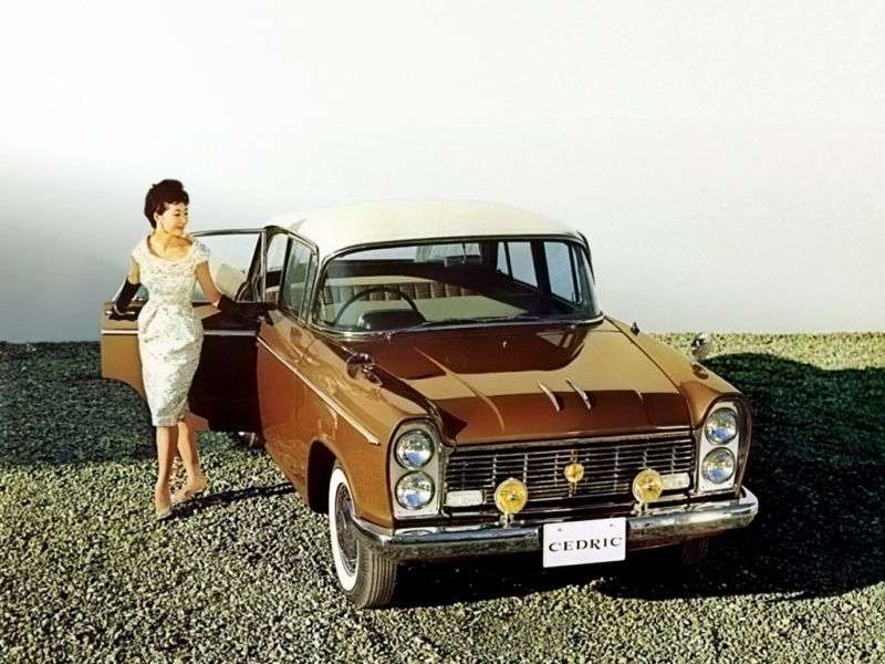 Nissan Cedric 31 [restyling] Special Mark I sedan 4 doors 2.8 MT (1963–1964)