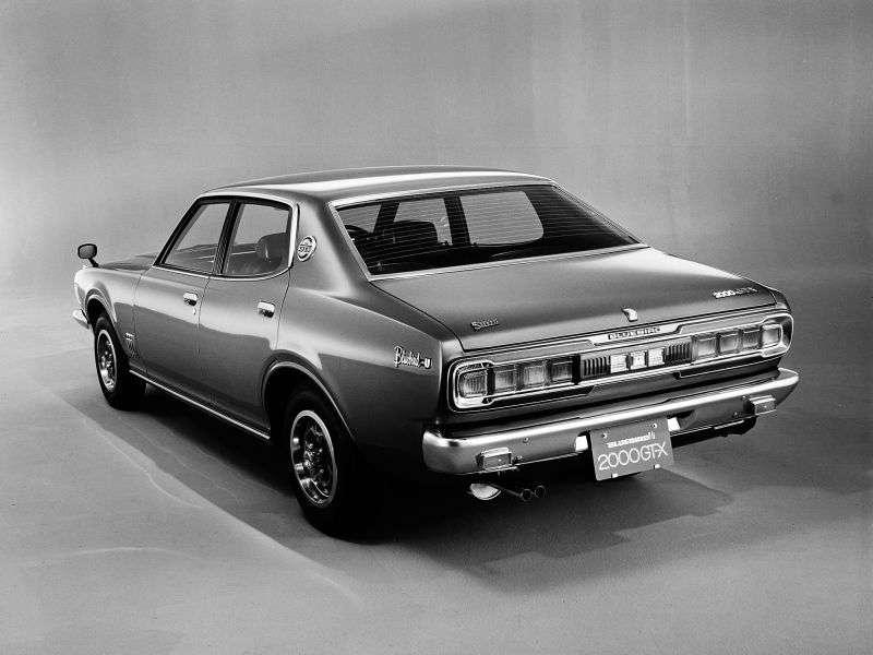 Nissan Bluebird 610 [restyling] 2000 GT Sedan 1.8 SSS AT (1973–1976)