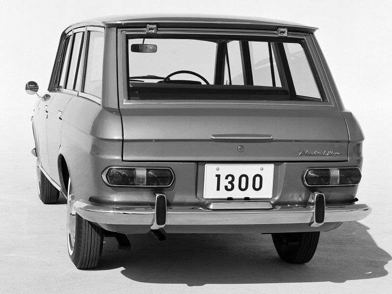 Nissan Bluebird 411 [restyling] station wagon 1.2 3MT (1966–1967)