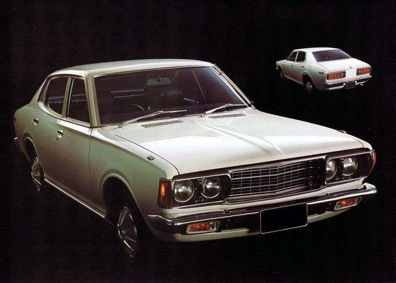 Nissan Bluebird 610 [restyling] sedan 2.0 MT (1975–1976)