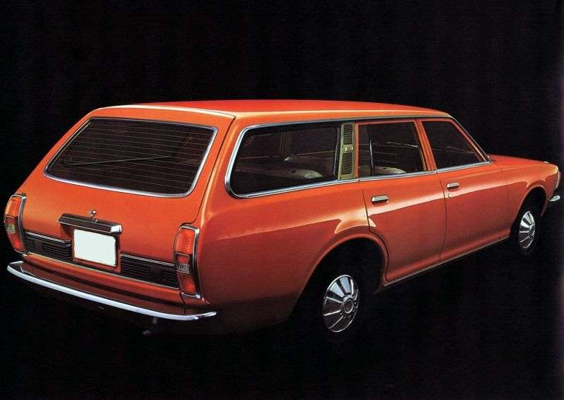 Nissan Bluebird 610 [restyling] wagon 2.0 MT (1974–1976)
