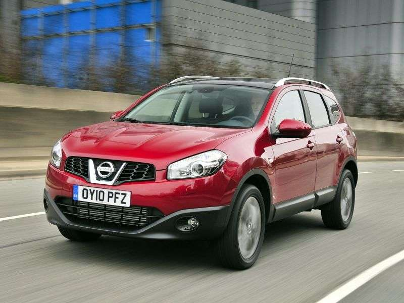Nissan Qashqai + 2 1st generation [restyling] crossover 2.0 CVT AWD SV + (2010 – n.)