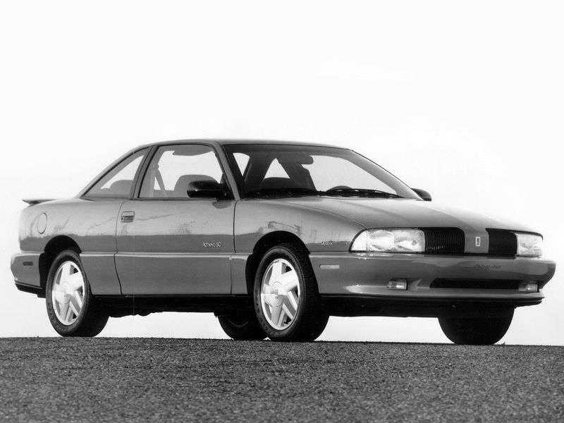 Oldsmobile Achieva 1st generation coupe 2.3 AT (1991–1998)