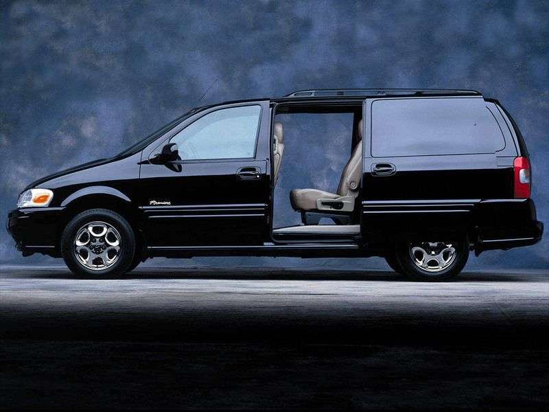 Oldsmobile Silhouette 2nd generation minivan 3.4 AT AWD (2002–2004)