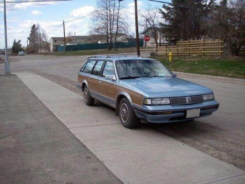 Oldsmobile Cutlass 5th generation Ciera wagon 2.5 AT (1981–1991)